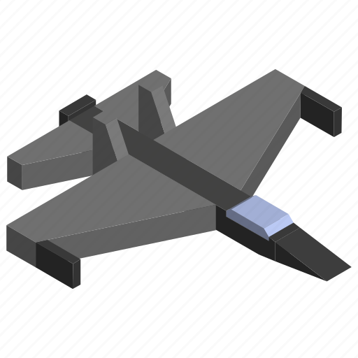 attack, fighter, jet, military, plane, vehicle icon