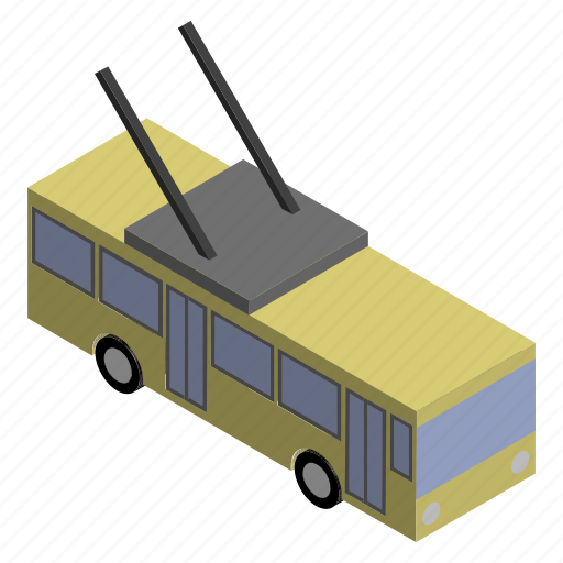 bus, public, transport, transportation, trolley, trolleybus, vehicle icon