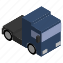 car, distance, engine, long, lorry, truck, vehicle icon