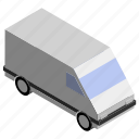 cargo, lorry, moving, transport, truck, van, vehicle icon