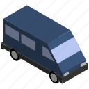 lorry, people, transit, transport, van, vehicle icon