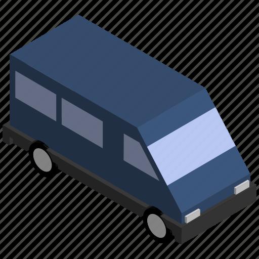 lorry, people, transit, transport, van, vehicle icon
