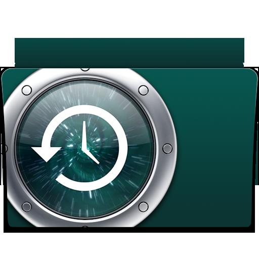 backup, folder, time machine icon