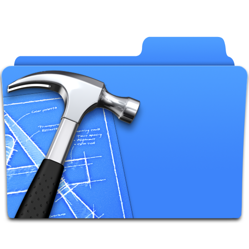folder, xcode icon