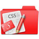 css, edit, folder, red, web design