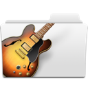 bass, folder, garage band, garageband, guitar, jazz, music, musicworld icon