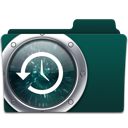 backup, folder, time machine icon