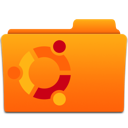 orange, ubuntu icon