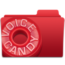 candy, voice icon