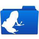 folder, frog, vuze