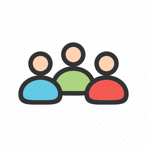 agents, clients, customers, members, people, team, users icon