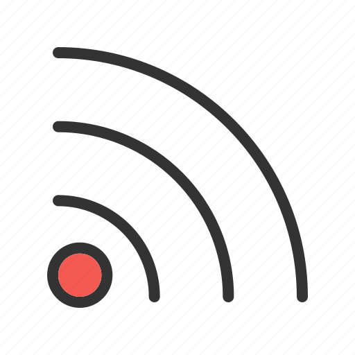 communication, feed, internet, news, rss, sign, web icon