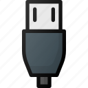 micro, usb, cable