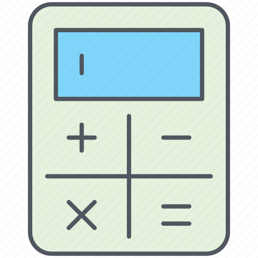 accounting, calculation, calculator, equation, formula, mathematics, science icon