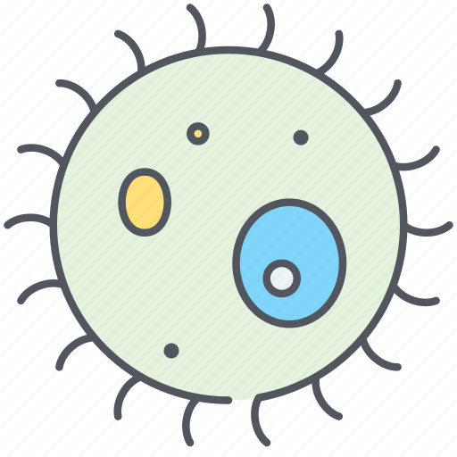 bacteria, lab, microbe, microbiology, microorganism, microscope, science icon
