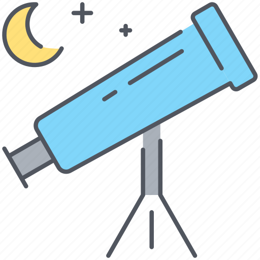 astronomy, explore, planets, research, science, space, telescope icon