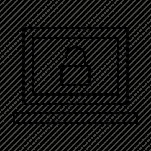 computer, hardware, it, notebook, programming, service, unlock icon