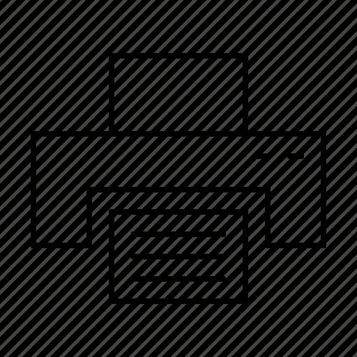 computer, hardware, it, printer, programming, service, webdesign icon