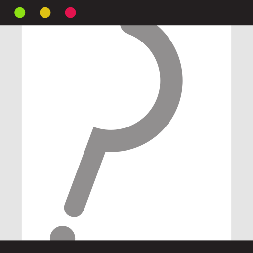 ?, browser, page, search find, website icon