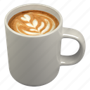beverage, cappuccino, coffee, cup icon