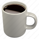 caffè americano, coffee, mug icon