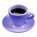 cafe, caffè, coffee, espresso, purple icon