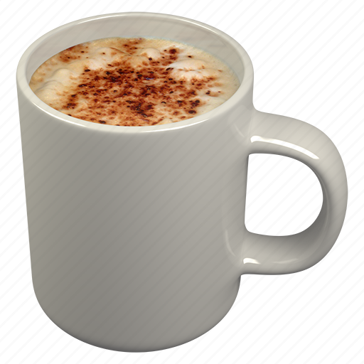 beverage, cappucino, coffee, mug icon