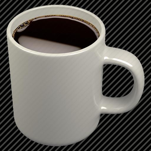 caffè americano, coffee, mug icon