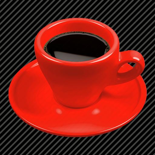caffè italiano, coffee, espresso, italian espresso, red icon