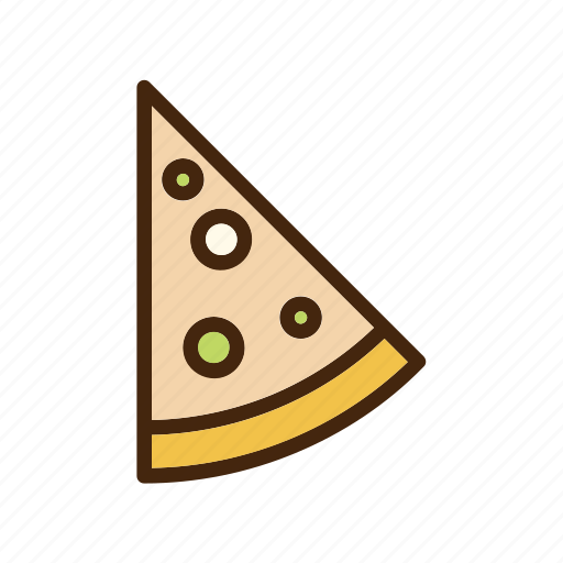 cheese, italian, meat, pepperoni, pizza, slice icon