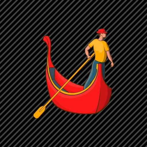Cartoon, design, gondolier, man, rowing, template, venice icon - Download on Iconfinder