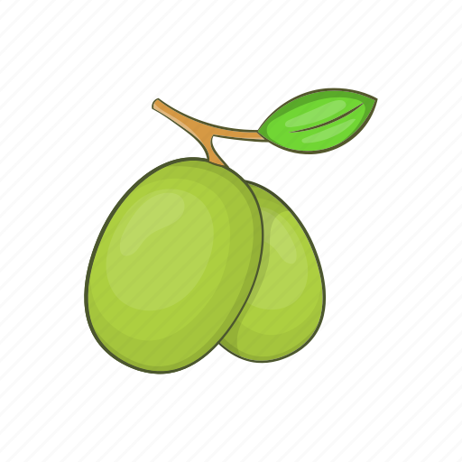 Branch, cartoon, italian, italy, leaf, oil, olive icon - Download on Iconfinder
