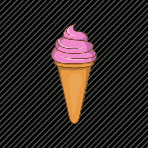 Cartoon, cream, dessert, gelato, ice, italian, sweet icon - Download on Iconfinder