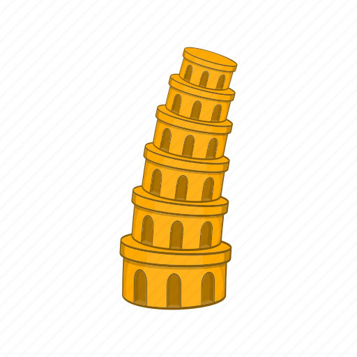 Architecture, building, cartoon, culture, italy, pisa, tower icon - Download on Iconfinder