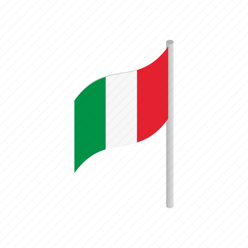 country, flag, italian, italy, nation, national, patriotism icon