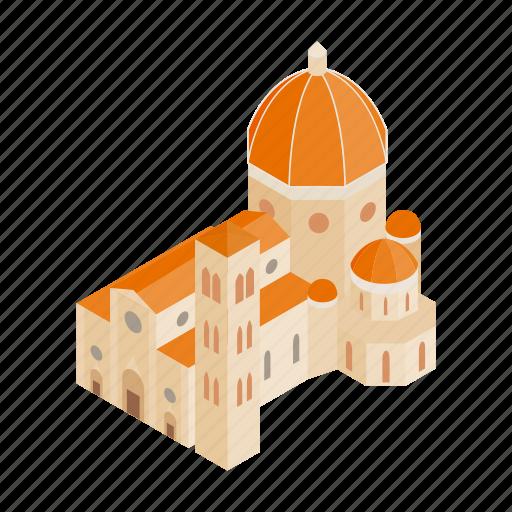 architecture, church, city, isometic, italy, rome, saint icon