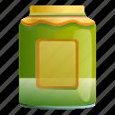 baby, child, eco, green, jam, jar