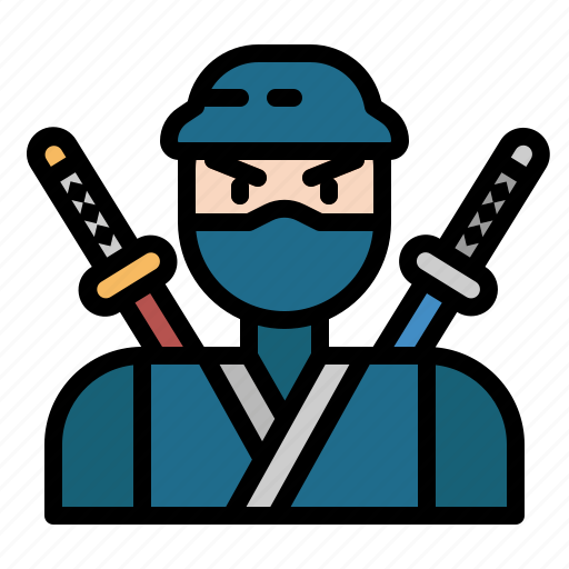 Cultures, japanese, ninja, oriental, warrior icon - Download on Iconfinder