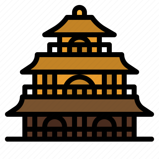architecture, cultures, japan, meijo, palace icon