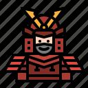 armor, cultures, japan, samurai, warrior icon