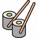 sushi, foods, japan, japanese