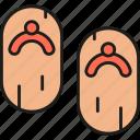 geta, shoes, flip flop, footwear, japanese, japan, traditional