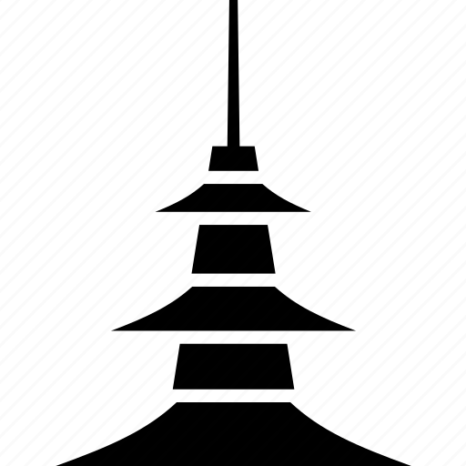 culture, japan, landmark, pagoda, shrine, temple icon