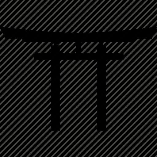 gateway, japan, landmark, shrine, temple, torii icon