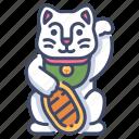 cat, culture, happy, japan, luck, lucky, neko