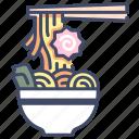 asian, bowl, food, japan, noodle, ramen, soup icon