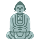 ancient, buddha, buddhism, japan, landmark, religion, temple icon