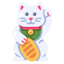 cat, culture, happy, japan, luck, lucky, neko icon