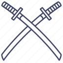 katana, samurai, sword, japanese