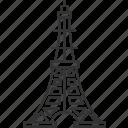tokyo, tower, japan, landkark, travel